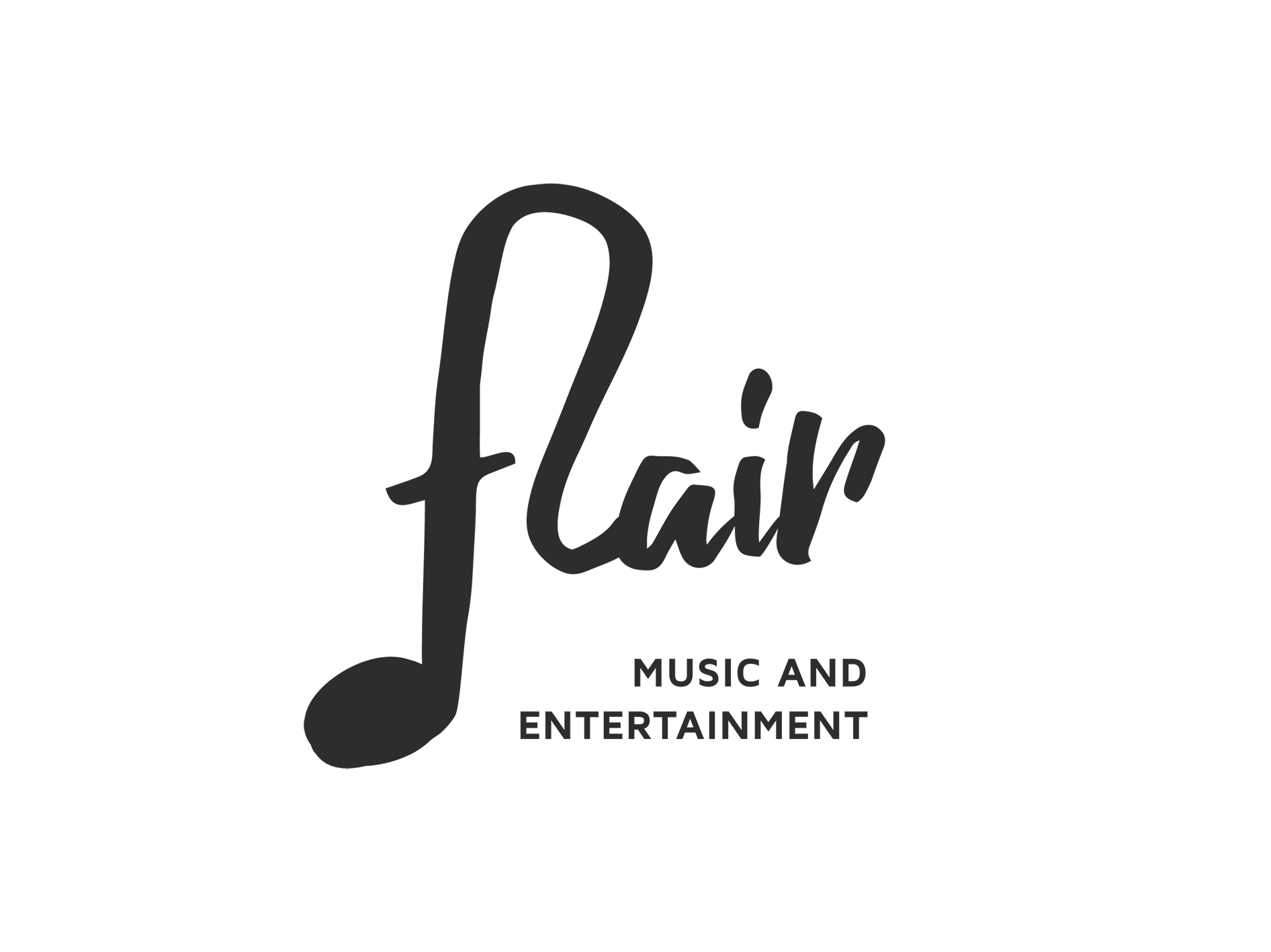 LOGO FLAIR MUSIC & ENTERTAINMENT