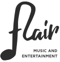 FLAIR MUSIC AND ENTERTAINMENT Logo