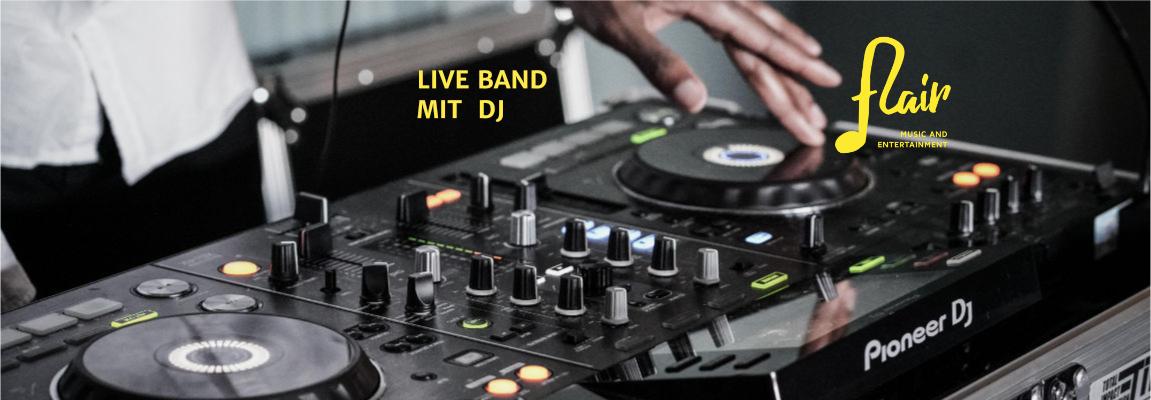 Live Band mit DJ